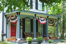 Akron Bed and Breakfast - Front Porch