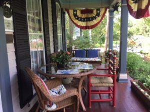 b&b Akron Ohio - Front Porch