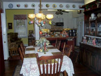 Bed and breakfast Akron - Kitchen in Winter